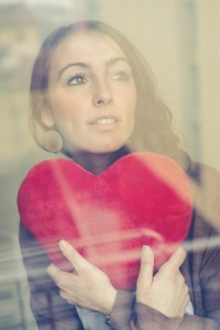 Online dating first date nerves in hand